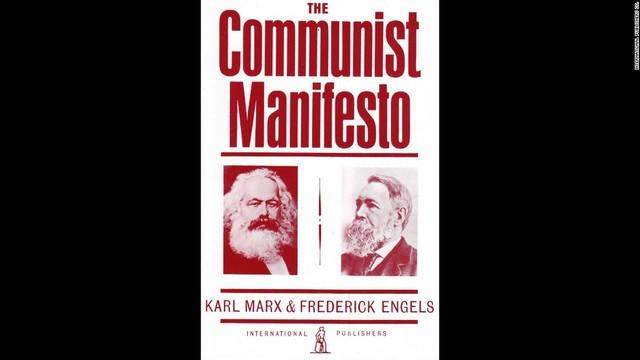 Karl Marx and Frederic Engels publish The Communist Manifesto