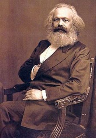 Karl Marx and Frederich Engels publish The Communist Manifesto