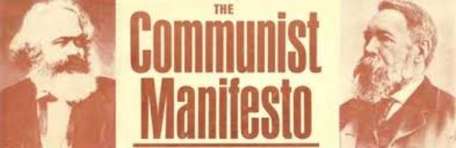 "Karl Marx and Fredric Engels publish ""The Communist Manifesto"""