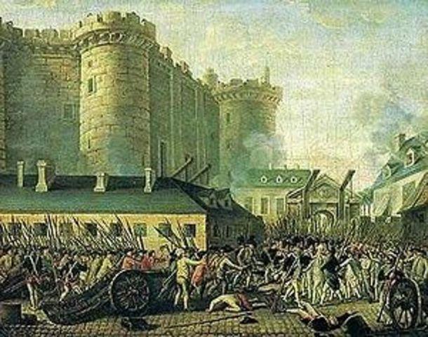 Asalto de la Bastilla por el pueblo de París