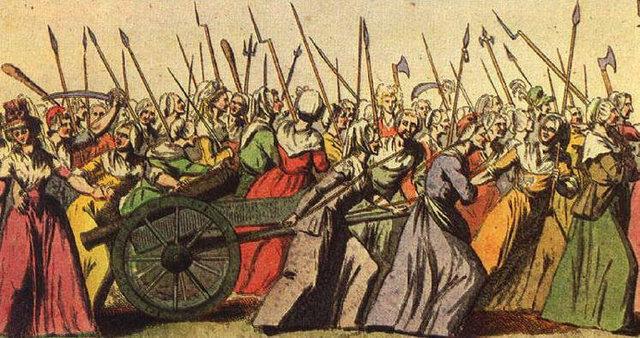 Marcha de las mujeres hacia Versalles