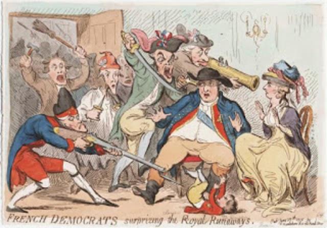 La familia real intenta huir y son apresados en Varennes