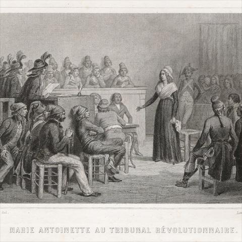 Creación del Tribunal Revolucionario contra los sospechosos de ir en contra de los principios de la Revolución