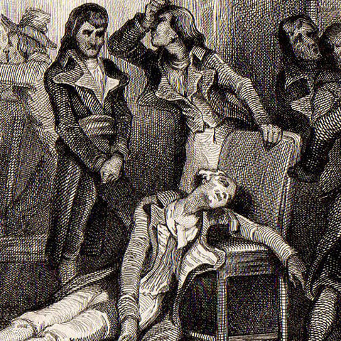 Detención y ajusticiamiento de Robespierre y otros dirigentes jacobinos: se inicia el Directorio