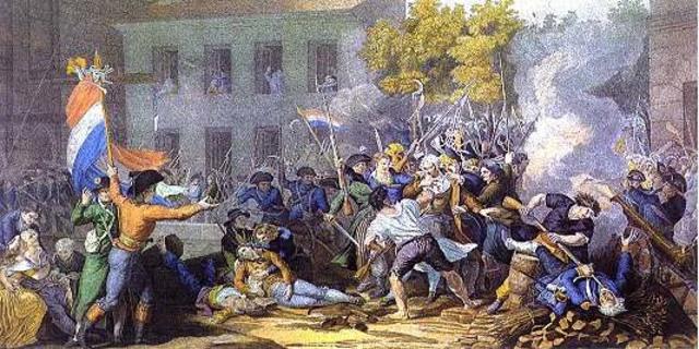 Revueltas populares debidas al hambre, que fueron sofocadas violentamente