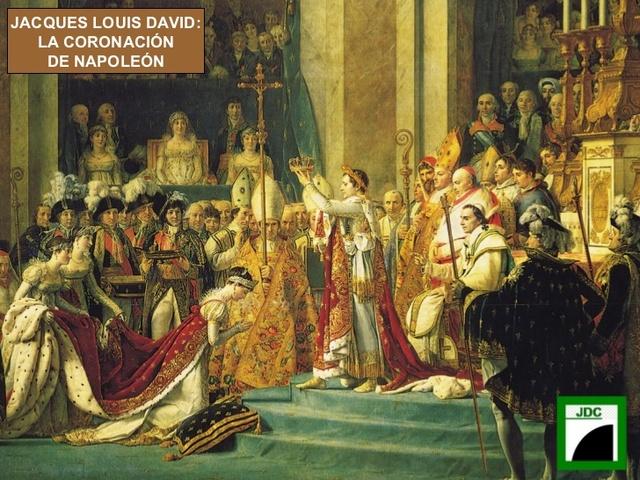 Coronación de Napoleón Bonaparte como emperador de los franceses