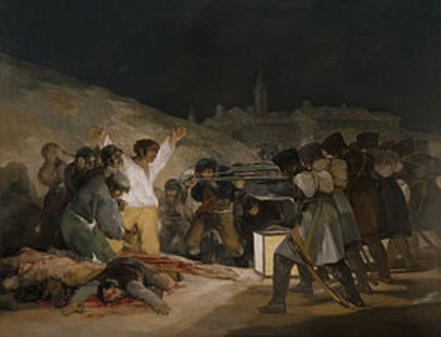 Entrada de las tropas francesas en España con el consentimiento de Carlos IV