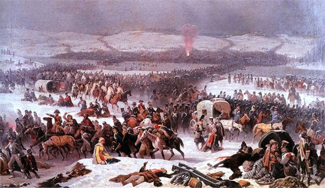 Máxima expansión del imperio napoleónico al invadir Rusia