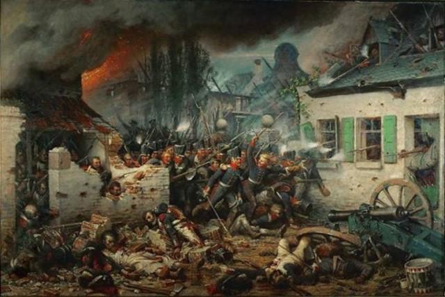 Entrada de las tropas coaligadas (Prusia, Austria y Rusia) en París