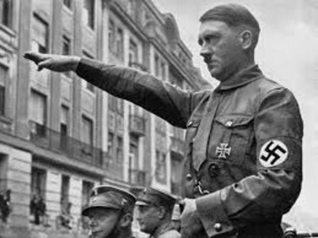 Hitler coming in Power