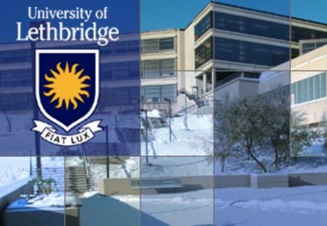Left University of Lethbridge