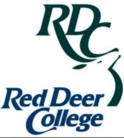 Began attending Red Deer College