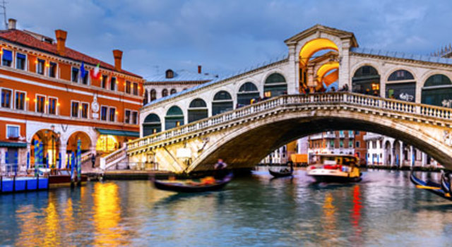 Chegada do Cavaleiro a Veneza