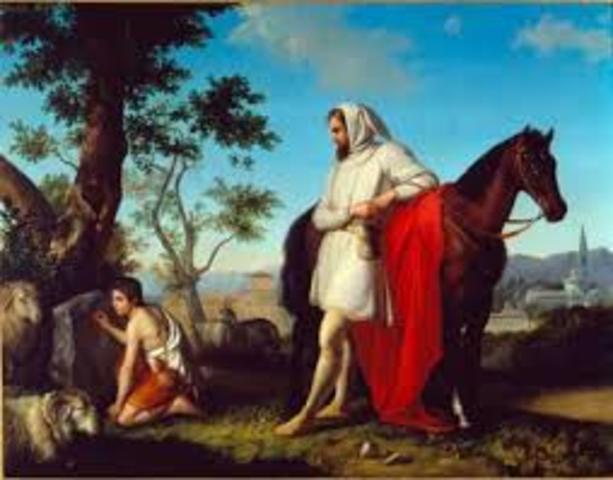 História de Giotto e Cimabué