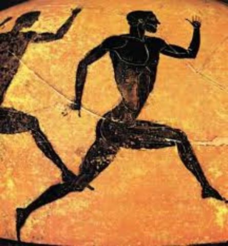 El hombre maratón (Grecia, 530 a.C.)