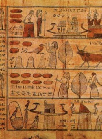 Papiros (300 años a.C)