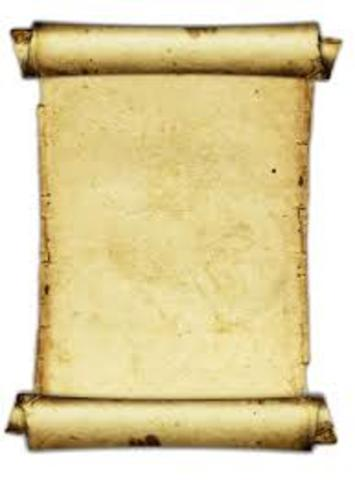 pergaminos (200 años  a.C.)