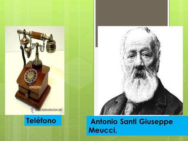 Teléfono, (año 1877)