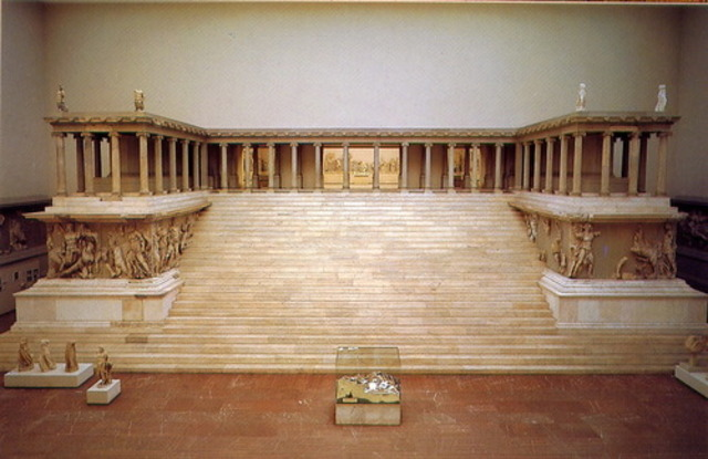 Great Alter of Zeus and Athens at Pergamon