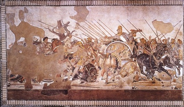 Alexander Mosaic from the House of Faun, Pompeii
