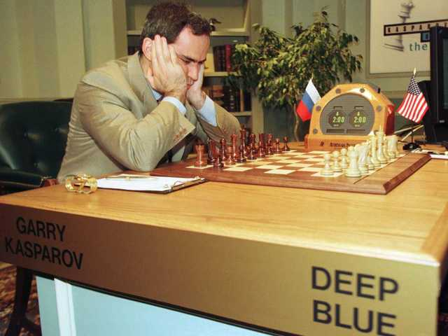 Deep Blue — шахматный суперкомпьютер
