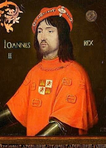 Juan II llega al trono de Navarra