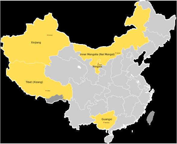 China benoemt Tibet tot speciale autonome regio (SAR)