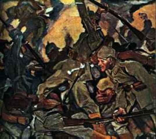 germany invades belgium