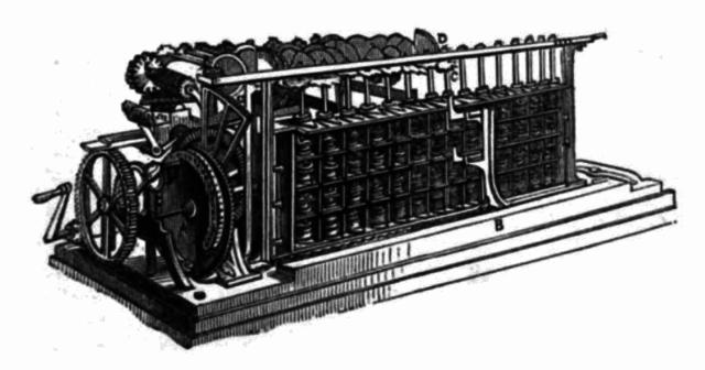 Чарльз Бэббидж придумал концепцию сложного цифрового калькулятора