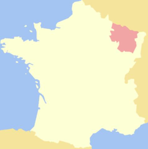 France invades Lorraine