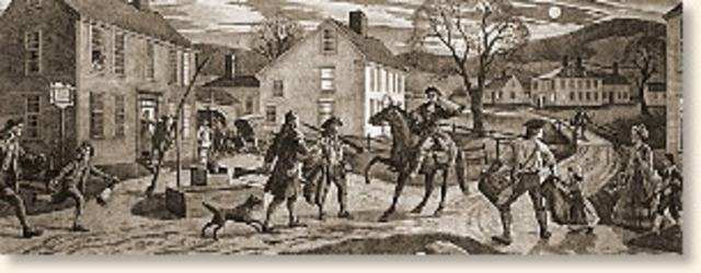 The Battle of Lexington Green