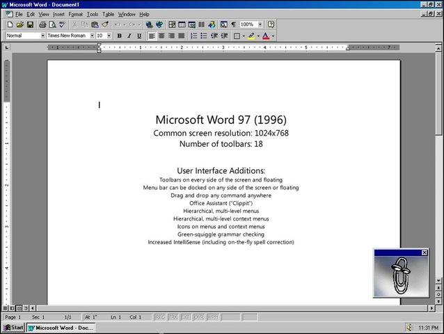 Первые макровирусы для Office97.