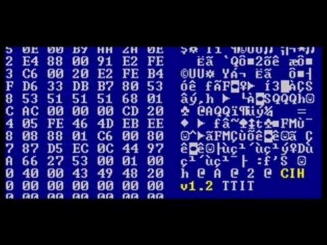 Вирус CIH или чернобыль (Virus.Win9x.CIH)
