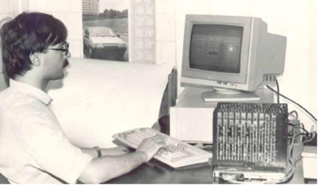 Создание первого нейрокомпьютера