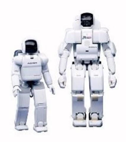 Появление робота Asimo