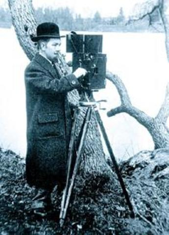The beginning of film history