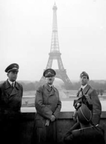Germany takes over France
