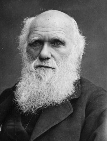 """1859 Charles Darwin publica su libro del """"Origen de las Especies"""""""