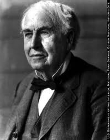 Edison files for a patent on a carbon (graphite) transmitter.