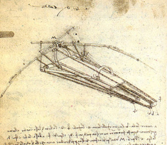 The Ornithopter, First Flying Machine
