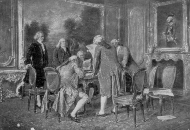 Treaty of Paris was Signed