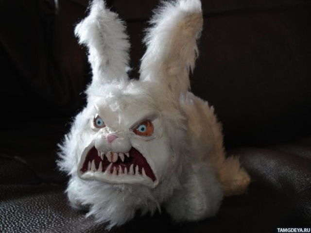 """кролик"" (Rabbit)."