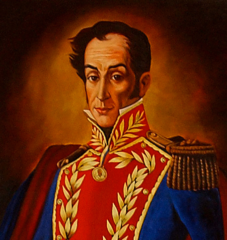 SIMON BOLíVAR(1783-1830).Also known as 'El Libertador'