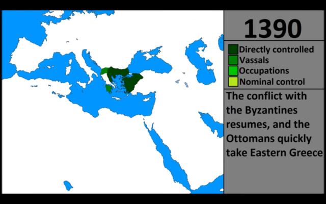 Osmannerne dragede yderligere vestpå
