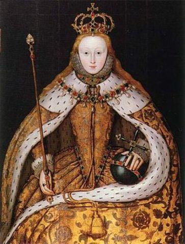 Elizabeth is crowned Elizabeth I