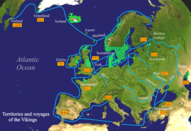 Vikingernes erobringer