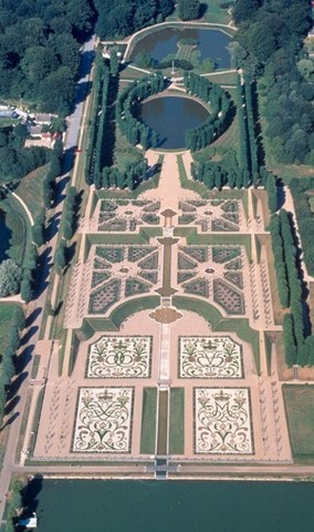 Barokhaven1720-25, Frederiksborg slot, 3400 Hillerød. Anlagt af Frederik den IVs arkitekt og havekunstner Johan Cornelius Krieger.