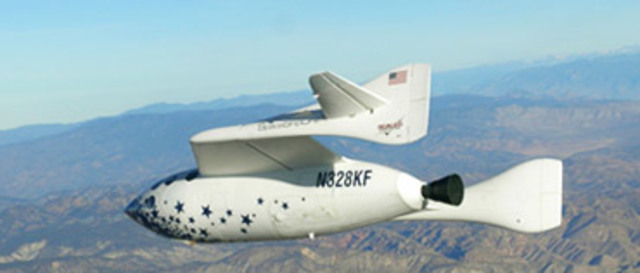 The First Space Airliner