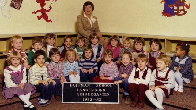 Entered kindergarten at Hoffman Elementary School