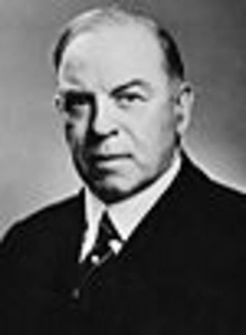 William Lyon McKenzie is Elected Prime Minister